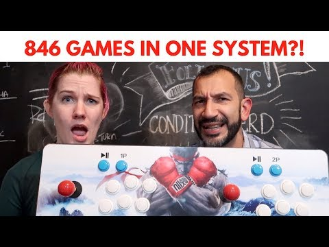 846 Games In One System?! Pandoras Box 5 Unboxing