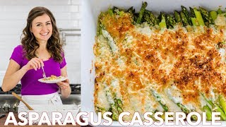 How To Cook Asparagus Casserole   Easy Side Dish
