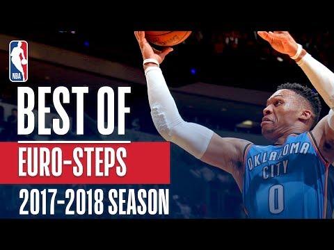 Best of Euro-Steps | 2018 NBA Season