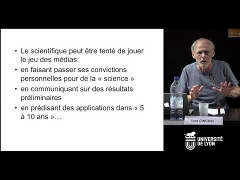 Colloque Éthique 2018 - Yves Gingras
