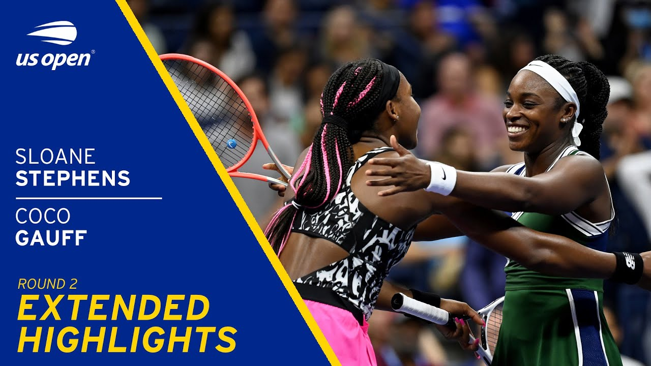 Sloane Stephens vs Coco Gauff Extended Highlights | 2021 US Open Round 2