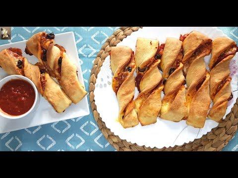 recette-de-pizza-roulée-facile-/-easy-pizza-roll-recipe/-وصفة-لفائف-البيتزا-سهلة-و-سريعة-التحضير