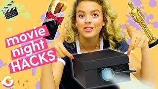 Movie Night Hacks! DIY Phone Projector, DIY Oscar Statue, Fancy Hot Dog | GoldieBlox