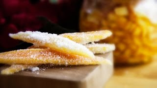 Candied Orange Peel - Kandyzowana Skorka Pomaranczowa - Christmas Recipe #190