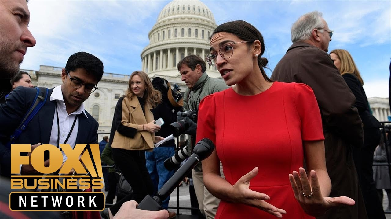 FOX Business - Ocasio-Cortez accuses Amazon of paying 'starvation wages'