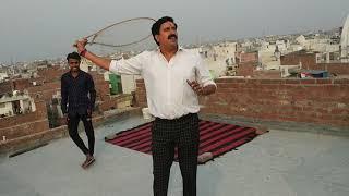 Bablu choudhary with deepak ustad patiyale kabutr bazi in ghondha gau 9212768700 delhi-110053