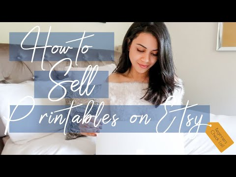 ETSY FOR BEGINNERS CHECKLIST | What You Need To Sell Printables On Etsy!
