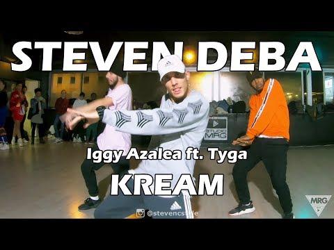 KREAM - Iggy Azalea ft. Tyga | LAX Studio | Steven DEBA