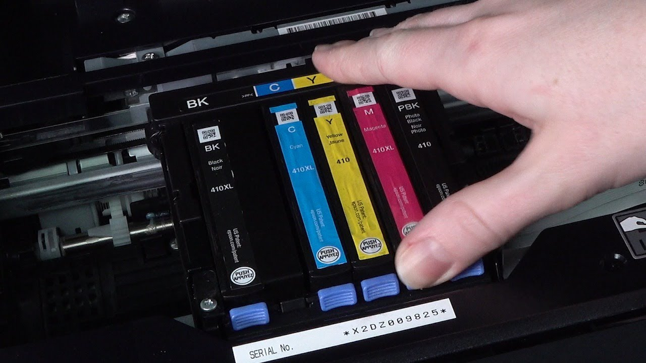 Epson Expression Premium XP-640 | How to Replace the Ink Cartridges