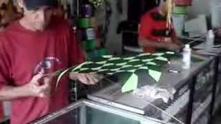 Pipas Cesinha - Fazendo uma pipa - Parte...