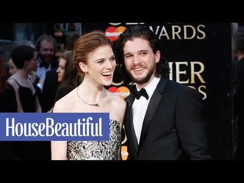 Kit Harington and Rose Leslie's Adorable Love Story   House Beautiful