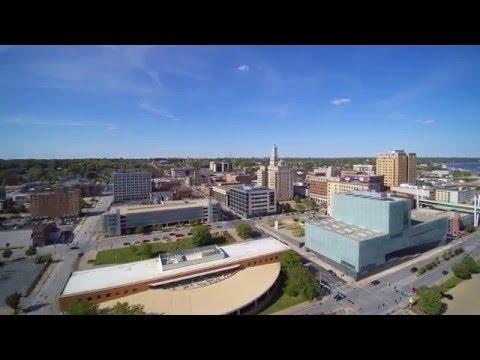 Yuneec 4k drone video Davenport IA