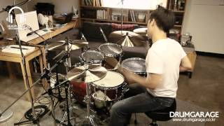 [Sound Sample] Zildjian K-Custom Dark Set by www.drumgarage.co.kr