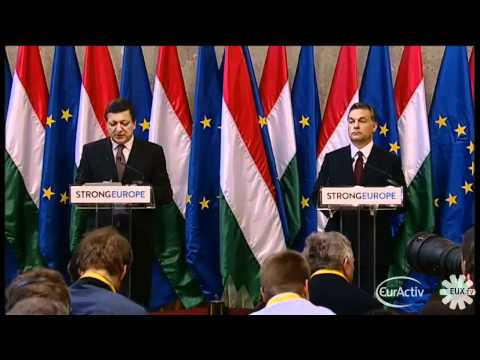 Barroso: EU Commission to assess Hungary media laws