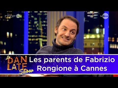 Quand les parents de Fabrizio Rongione l'accompagnent au festival de Cannes