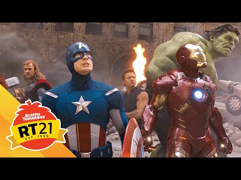 21 Most Memorable Movie Moments: Avengers Assemble in New York from The Avengers (2012)