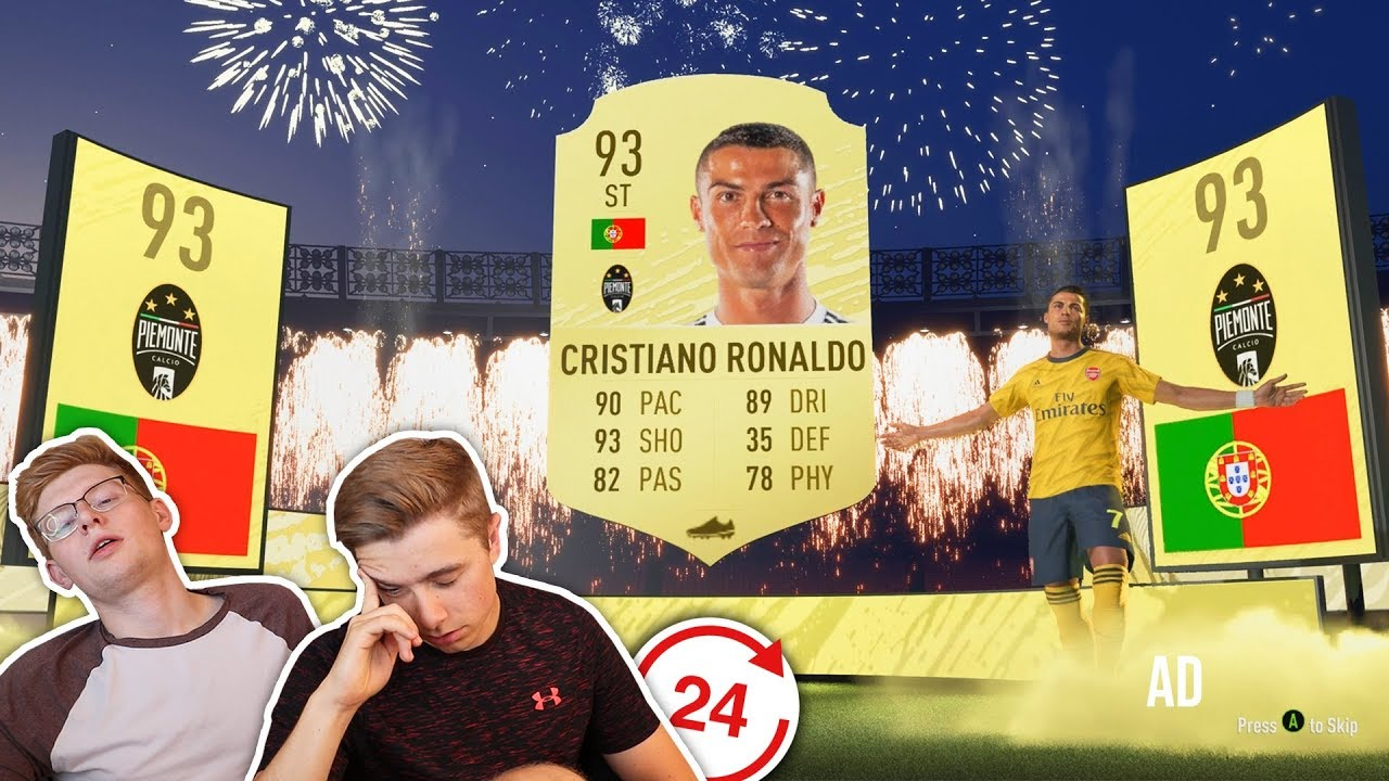 Youtuber Opens Fifa 20 Packs For 24 Hours Straight And Records His Findings Sportbible