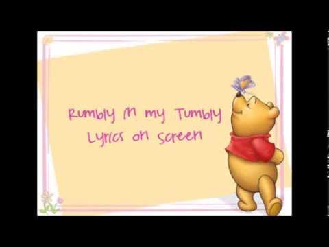Rumbly in my Tumbly Lyrics (Winnie the Pooh HD)