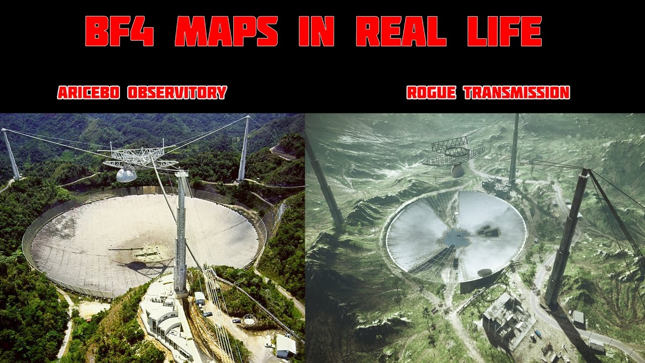 Bf4 Maps In Real Life Compared To