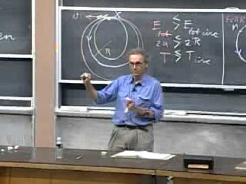 Lecture 22_ Kepler's Laws - Elliptical Orbits - Satellites -
