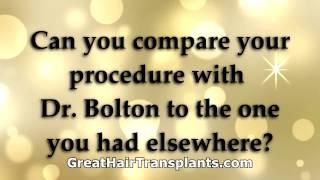 GreatHairTransplant premature balding in young men