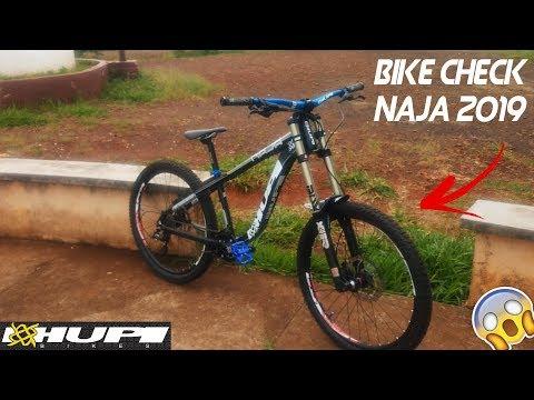 Bike check Hupi Naja 2019 Boxxer - YouTube