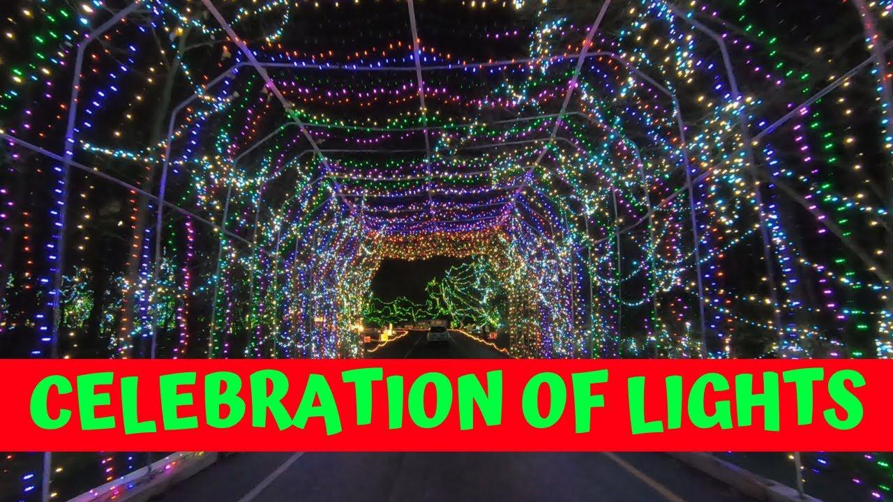 Christmas In Ofallon 2021 Celebration Of Lights 2020 Christmas Light Drive Thru At Fort Zumwalt Park In O Fallon Missouri Youtube