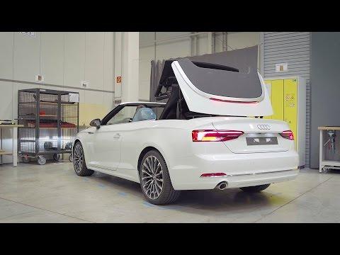 Audi Convertible Testing in Neckarsulm, Germany