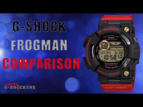 Casio G Shock Frogman Comparison Review | GWF-1000 | GWFD-1000 | GF-8200 thumbnail