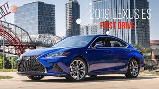 ALL NEW 2019 Lexus ES First Drive Review - More Power, Better Economy
