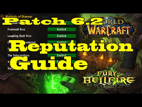 WoW Patch 6.2 Reputation Guide - Get Flying as Fast as Possible
