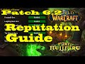 WoW Patch 6.2 Reputation Guide Get Flying as Fast as Possible