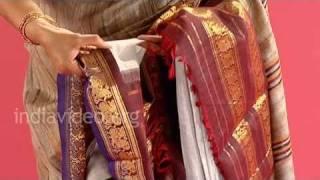 Gadwal sarees of Andhra Pradesh, India