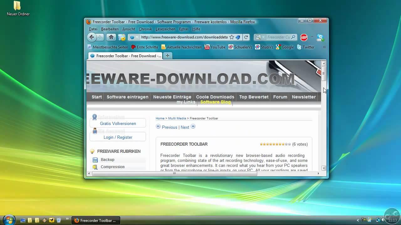 Freecorder 4 for google chrome free download.