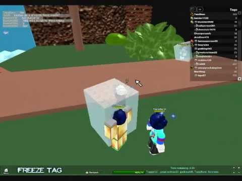 roblox freeze tag codes