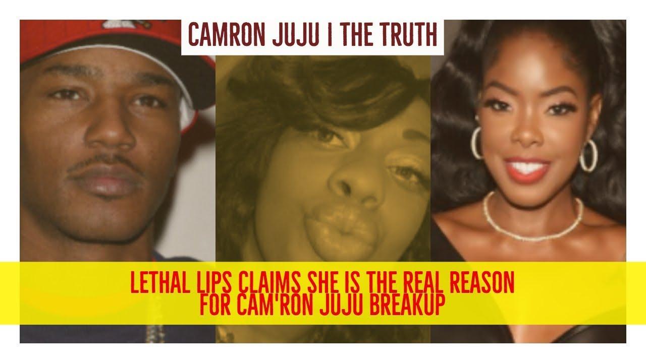 Camron Juju Breakup Lethal Lipps Claims She Is Real Reason For Breakup Safaree Juju