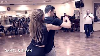 Daniel Galili and Sivan Albo dance We were two from Moshe Peretz and Nasdrin Kadri