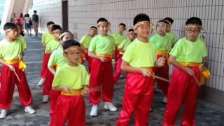聖公會牧愛小學龍騰鼓隊賽前訓練2015-10-17