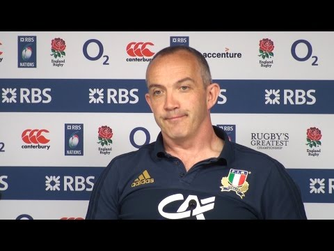 England 36-15 Italy - Conor O'Shea Full Post Match Press Conference - Six Nations