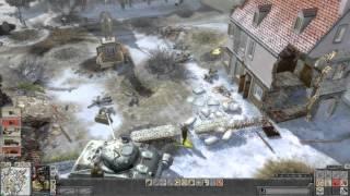 Faces of War - Allied campaign walkthrough - Mission 7 - Bastogne 3/3 [HD]