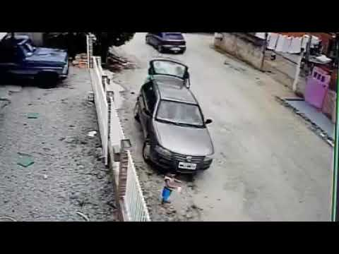 Poor boy run over by drive(graphic)!!!