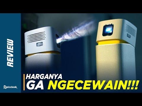 Review Benq Mini Projector Gv1 | Karantina & Puasa Di Rumah Jadi Seru!