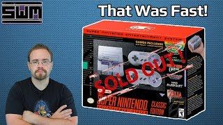 SNES Classic Pre-Orders Sold Out Right Away, Now What? + Flash Giveaway