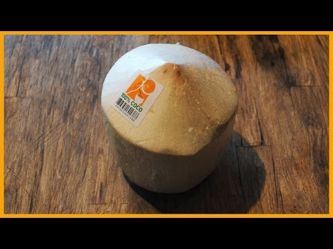 HOW TO OPEN IMPORTED YOUNG THAI COCONUTS FAST AND SAFE