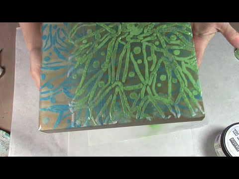 Layered Resin Canvas