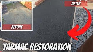 Tarmac Driveway Cleaning & Restorer [ Pressure Washing ]