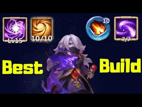 Dark Mage | Best Build | Castle Clash