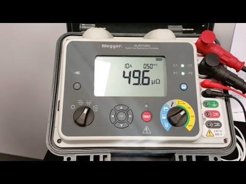 Introduction To Megger DLRO100 Digital Low Resistance Ohmmeter