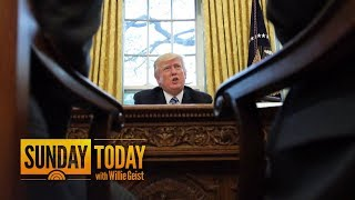President Donald Trump Prepares For State Of The Union Address | Sunday TODAY