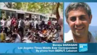 فرانس24:زدوخورد با رژیم در چند شهر بزرگ ایرانclash major cities